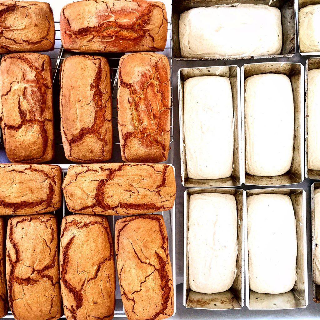 Glutensiz ekşi maya ekmeklerimiz